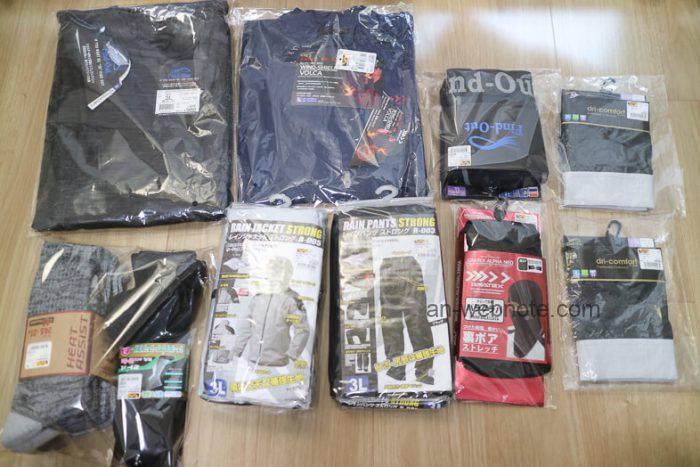 ワークマン(WORKMAN)購入商品10点の画像