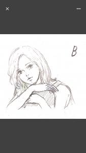 ラフ案Bの画像