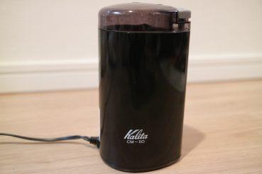 Kalita(カリタ)電動コーヒーミル CM-50(ブラック)