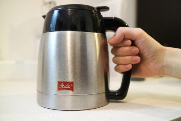 メリタコーヒーメーカーのポット