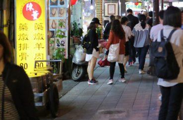 12月の台北ファッション参考画像(夜)