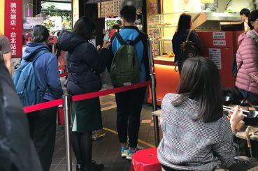 12月の台北ファッション参考画像(寒い日)