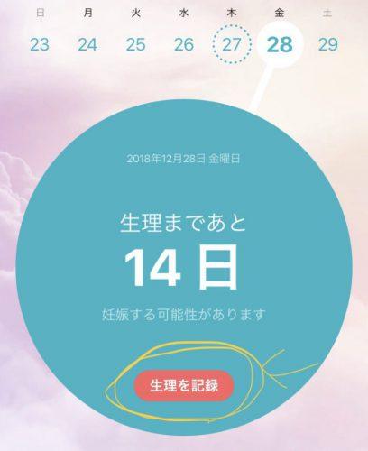 Flo 生理日管理アプリ カレンダー(使い方)
