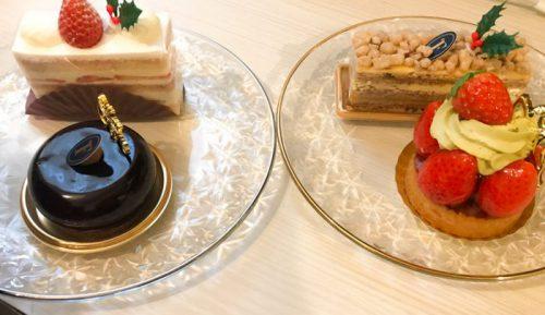 子なし夫婦のクリスマスの過ごし方ーケーキ(蔵前のパテイスリーフォブス))