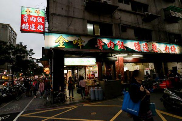 金峰魯肉飯(中正紀念堂駅)