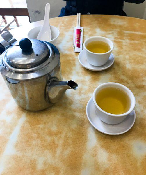 台北グルメ:中正紀念堂「黄龍荘」のお茶