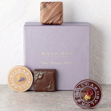 NEW BVLGARI IL CIOCCOLATO(ブルガリ イル・チョコラート) サン・ヴァレンティーノ2019 4個入り