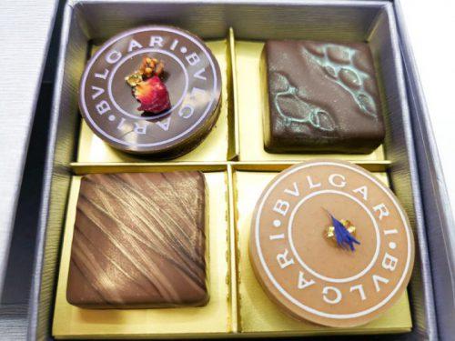 BVLGARI IL CIOCCOLATO(ブルガリ イル・チョコラート) サン・ヴァレンティーノ2019 4個入り