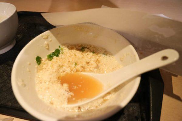 台北「阜杭豆漿」の鹹豆漿