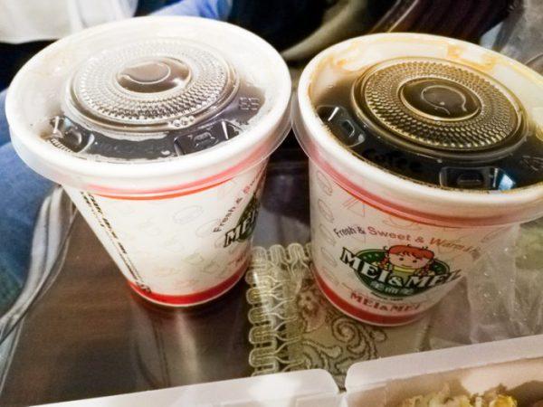 台北・中正紀念堂「 煎台兄弟」のコーヒー&紅茶