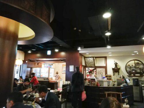台北「點水樓」店内
