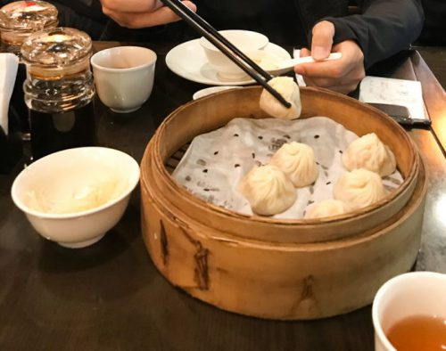 台北「點水樓」小籠包