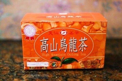 台湾・台北で購入したお土産用台湾茶 高山烏龍茶