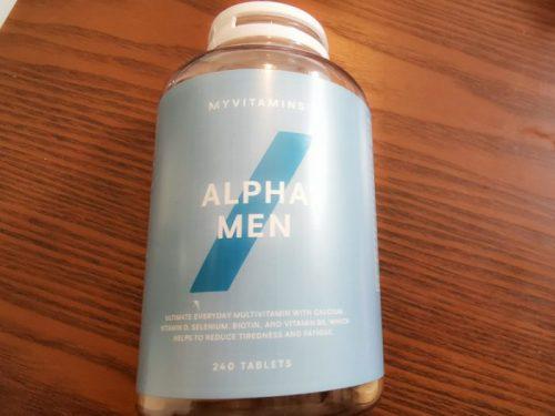 MYVITAMINS ALPHA MEN(ビタミンサプリメント)