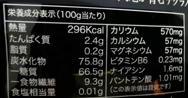 成城石井で購入したプレミアムデーツ栄養価