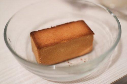 サニーヒルズのパイナップルケーキをトースターで温めた後