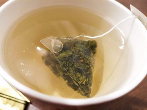 台湾・台北で購入したお土産用台湾茶「喫茶物語」の100%阿里山高山茶。