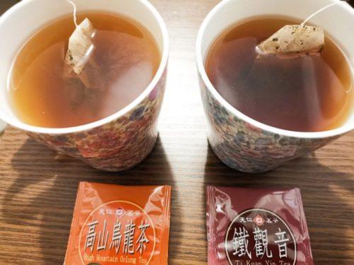 台湾・台北で購入したお土産用台湾茶「天仁茗茶」