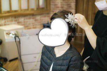 台湾 ウエディングフォト 結婚写真 ブログ ヘアメイク