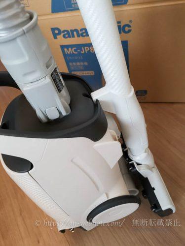 パナソニック紙パック式掃除機 電気掃除機 MC-JP810G