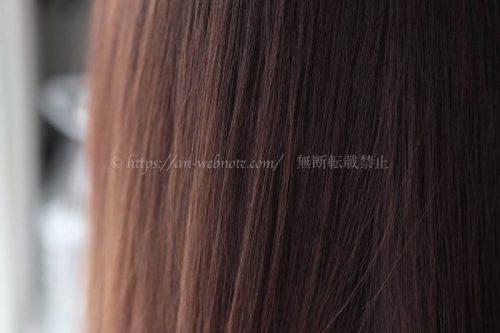 セルフカラー「COLORIS(カラリス)」体験口コミ・評判 ビフォーアフター画像 髪色 ナチュラルブラウン