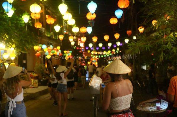 ベトナム夫婦旅行 ダナン  ホイアン 夜景