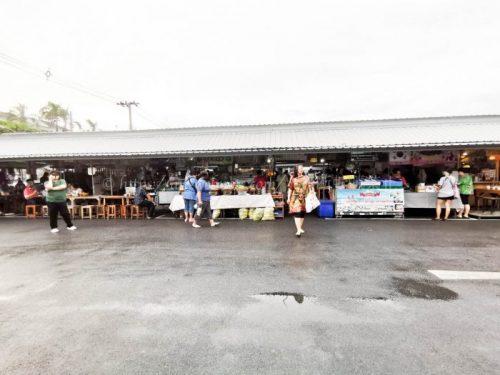 タイ バンコク旅行 サマゴーン市場