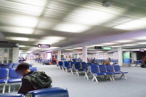 ドンムアン空港 待合室
