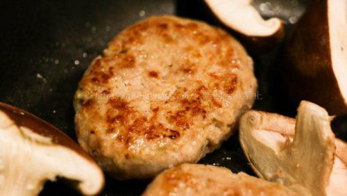 Pan& パンド 冷凍パン 幸福豚100%の生ハンバーグ