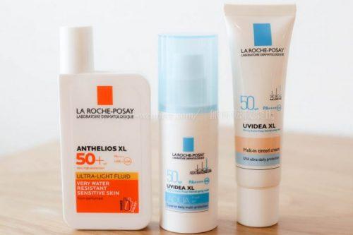 ラロッシュポゼ ボディ フェイス 日焼け止め UV乳液 比較