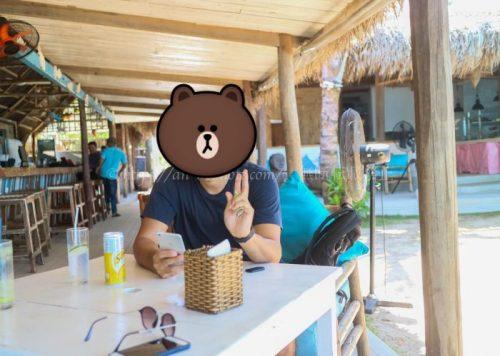 アンバンビーチ レストラン