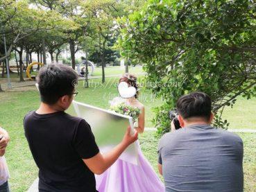 台湾結婚写真 海外ウエディングフォト 台北 迷宮花園撮影