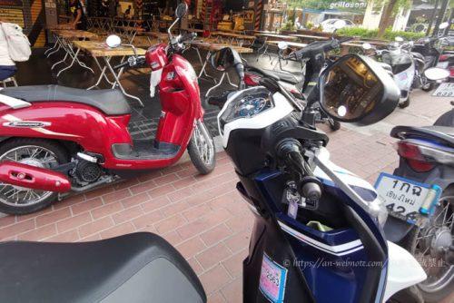 タイ チェンマイ バイクレンタル 料金