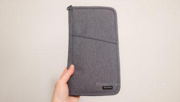 《サンワサプライ》トラベルオーガナイザー L グレー(13ポケット)パスポートケース クレジットカード収納