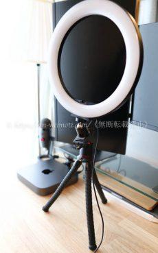 サンワサプライ「LEDリングライト」 購入レビュー デスク周り デスク環境