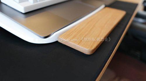 「バード電子製」パームレストウッド(クリアー色)PZ-WPHHK2C 購入レビュー デスク周り デスク環境