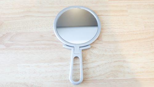 【特許取得! 手鏡/卓上ミラー】ナピュア 「折立 ハンドミラー NA-003」